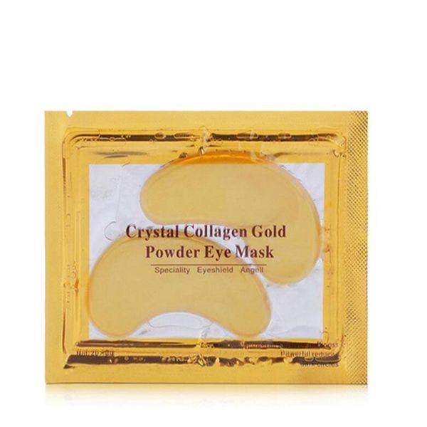 top popular Crystal Collagen Gold Powder Eye Mask & Peels Deep moisturizing and smoothing Crystal Collagen Eye Mask 2021