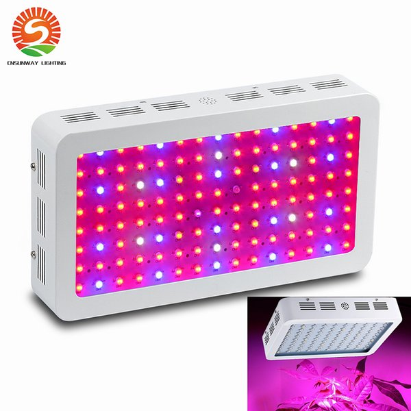 US Stock! Full spectrum LED Grow Light 600/1000/1200W Double Chips LED Grow Lights Indoor Plants lamp for flowering and growing