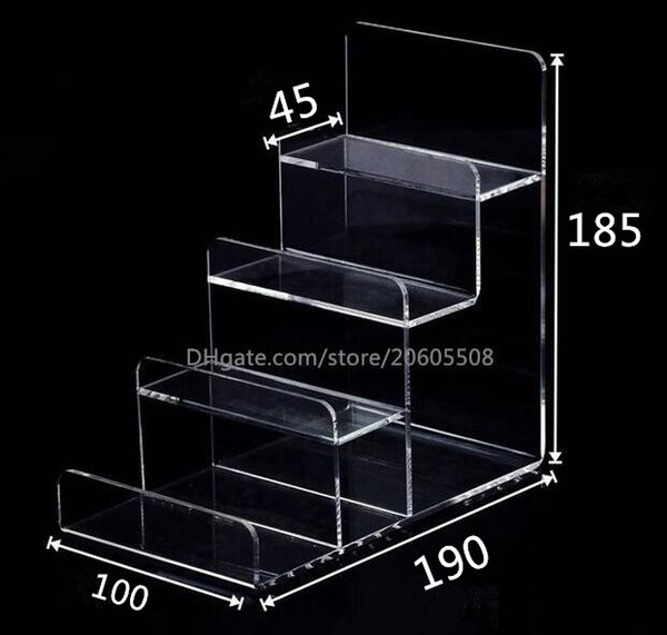2pcs Multifunction Acrylic Mobile Phone U Disk Jewelry Display Stand Holder Digital Products Purse Wallet Rack Showcase Bracelets Display