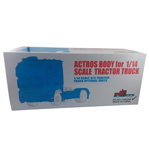 Großhandel- [HERKULES HOBBY] TAMIYA 1 14 Scale Tractor Truck Actros 1843 Komplette Karosserie 2 Achse