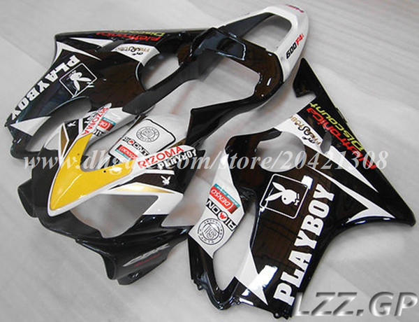 Injection fairings body for Honda CBR600F4i 2001 2002 2003 CBR600F4i 01 02 03 CBR600 F4i 2001-2003 2002 abs fairings #l20w8 black