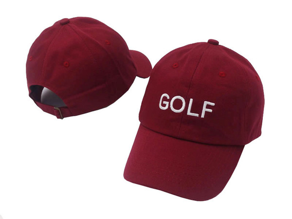 wholesale and retail Golf Wang Cherry Bomb Baseball Cap 100% cotton four colors Strapback snapback Adjustable hat