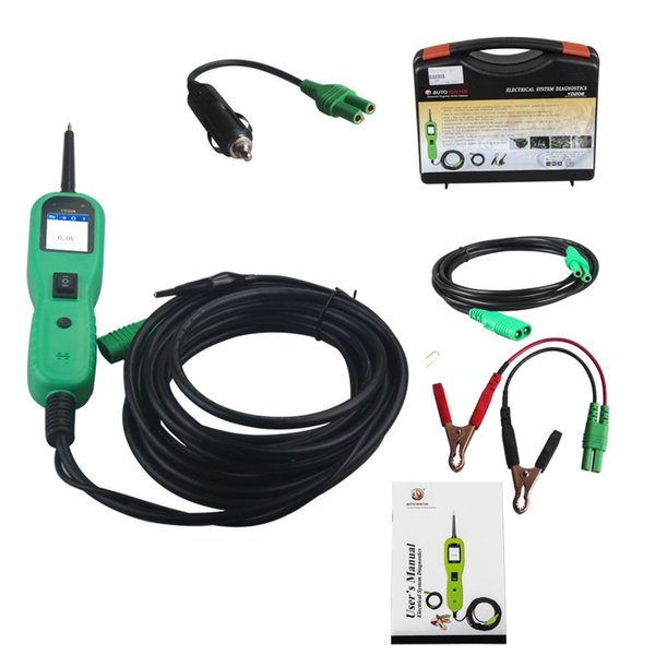 2018 Newest Electrical System Diagnostics AUTEK YD208 Power Probe More Powerful Function Instead of PowerScan PS100 Electric Circuit Tester