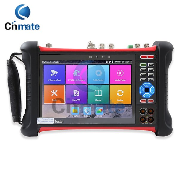 7 Inch Retina Display IP Camera Tester CCTV Tester CVBS Analog Tester with HD-TVI/CVI/AHD/SDI/POE/WIFI/RJ45 TDR/DMM/VFL X7-MOVTSADH-Plus