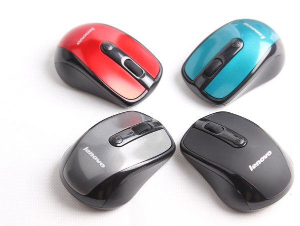 best selling Good quality Lenovo mice high quality 2.4G 1000dpi USB wireless mouse games gaming mouse for CF LOL PC free shipping DHL