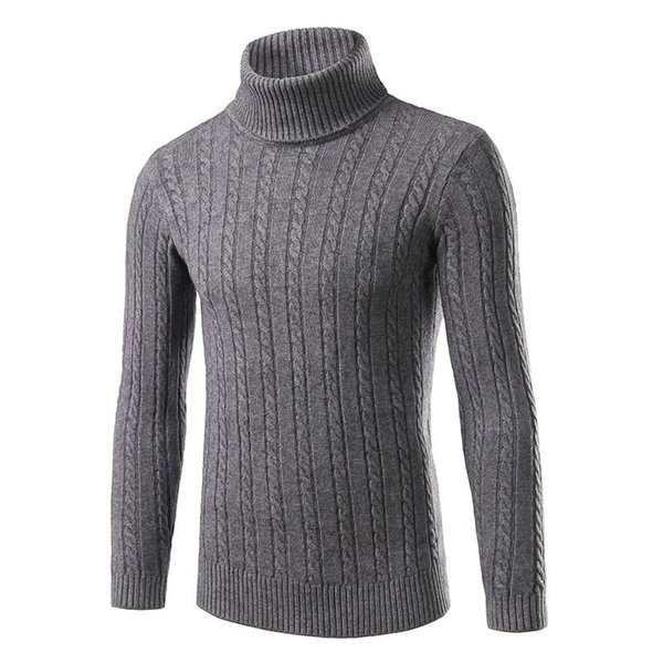 turtleneck men brand clothing pullovers 2016 new slim fit sweater men plus size long sleeve knitted men's sweater mens clothing