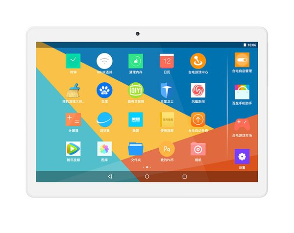 "Wholesale- 10.1"" 1200*1920 Teclast X10 Quad Core 3G Phone Phablet Android 4.4 MT6582 Quad Core Tablet PC 1GB Ram 16GB Rom BT 5.0MP Camera"