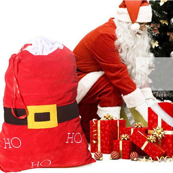 Wholesale 2016 New Year Cloth Christmas Gift Bags Big Bag Santa ...