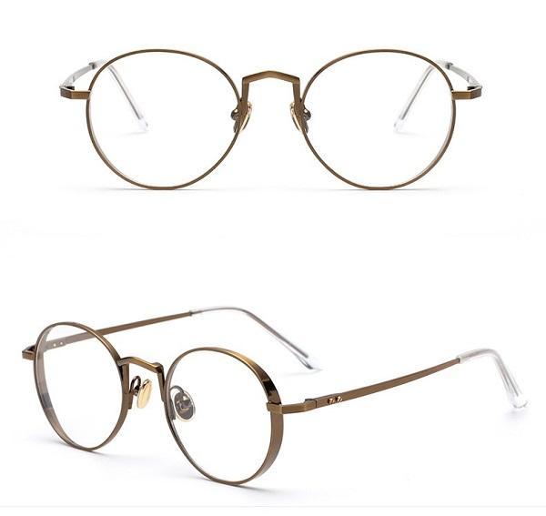 New Fashion Vintage Round Eyeglass Frame Glasses Retro Spectacles ...
