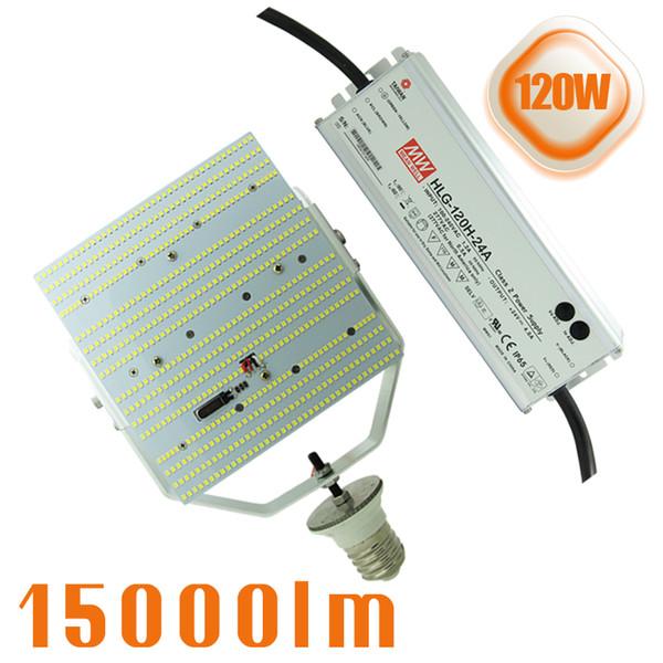 120W LED Light Retrofit Kit for wall pack streetlight high bay canopy shoebox