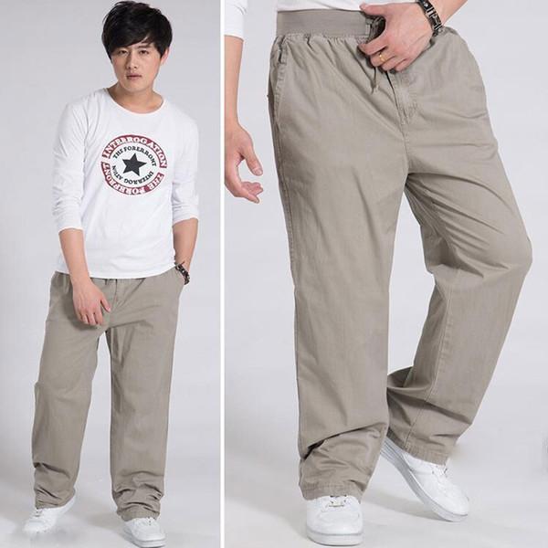 Venta al por mayor de alta calidad para hombre pantalones de los hombres ocasionales pantalones de carga pantalones de diseño Baggy Plus tamaño 3 colores tamaño 6XL