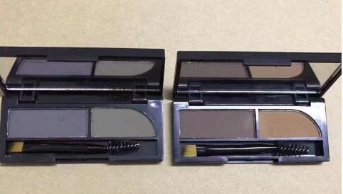 Best-Selling EST NUEVA KYLIE DOUELE COLORS EYEBROW eyeshadow 2PCS ENVÍO GRATIS