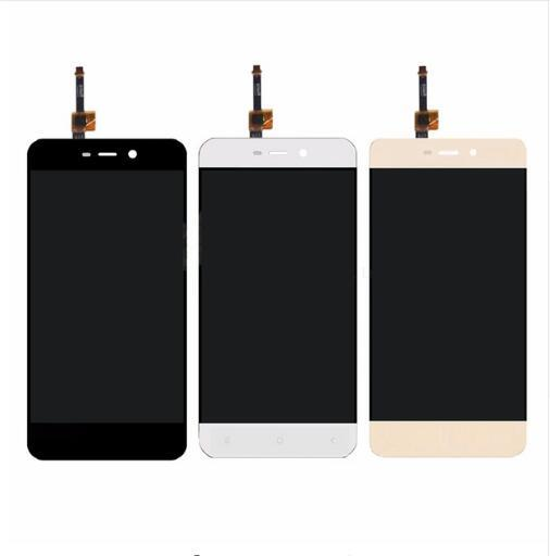 Touch Screen Glass And LCD Display Digitizer Assembly For Xiaomi Redmi 4A Smart Phone Black White Gold Color