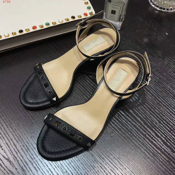 2017 new arrival new style high-end custom genunie leather high quality and fashion beautiful lady sandals of womens shoes