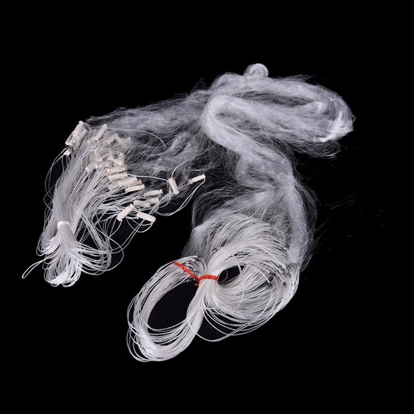 25m 3 Layers Monofilament Gill Fishing Net with Float Fish Trap Rede De Pesca Nylon Fish Net Accessory Tools 1pc