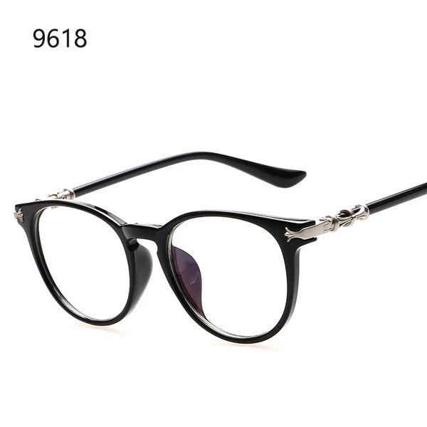 2016 мода круглый прозрачные линзы очки женщины оптических оправ бренд дизайн старинные мужчины очки gafas-де-Сол Корея стиль рамки