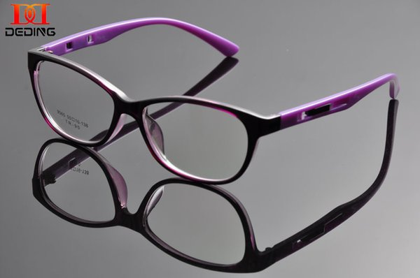 Wholesale- DEDING Cateye High Pointed Eyeglasses Vintage Inspired Fashion Women's Glasses Frames Prescription