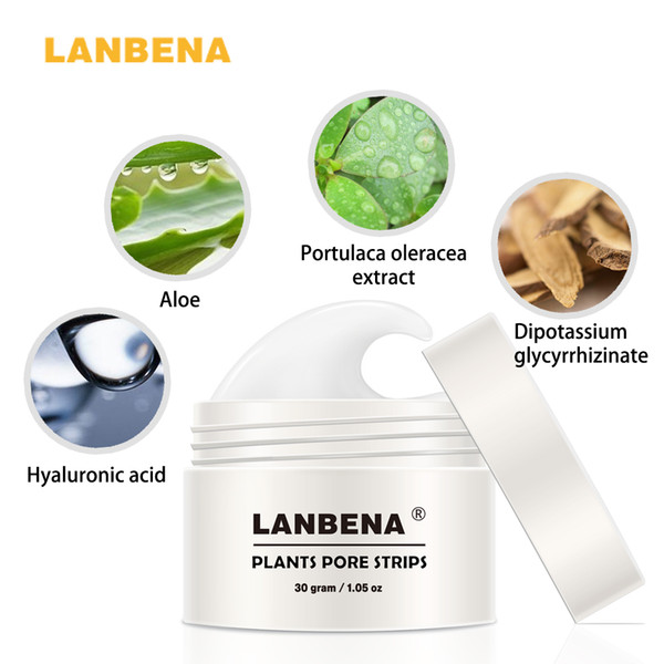 2017 New Style LANBENA Blackhead Remover Nose Mask Pore Strip Black Mask Peeling Acne Treatment Black Deep Cleansing Skin Care