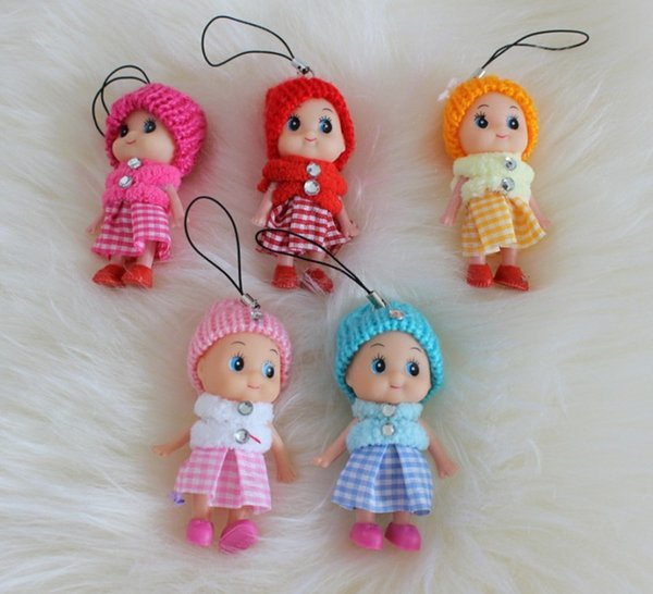 2017 new Kids Toys Dolls Soft Interactive Baby Dolls Toy Mini Doll For Girls High quality cheap gift free shipping