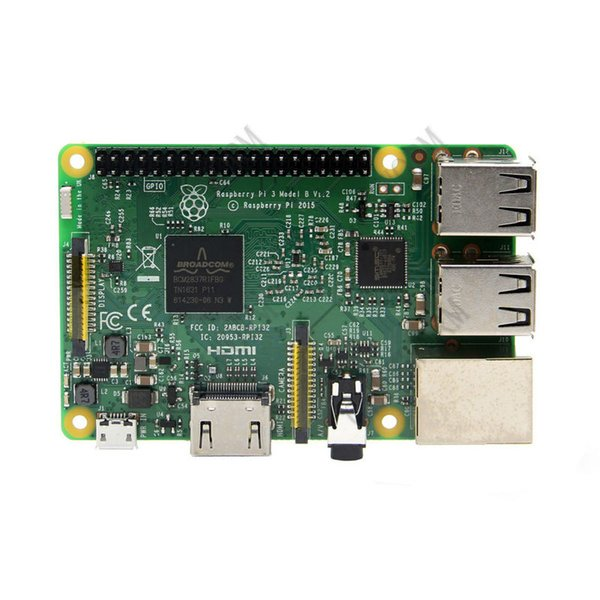Freeshiping RS Raspberry Pi 3 Model B ARM Cortex-A53 CPU 1.2GHz 64-Bit Quad-Core Board w/ 1GB RAM Broadcom BCM2837 64Bit Quad Core Processor