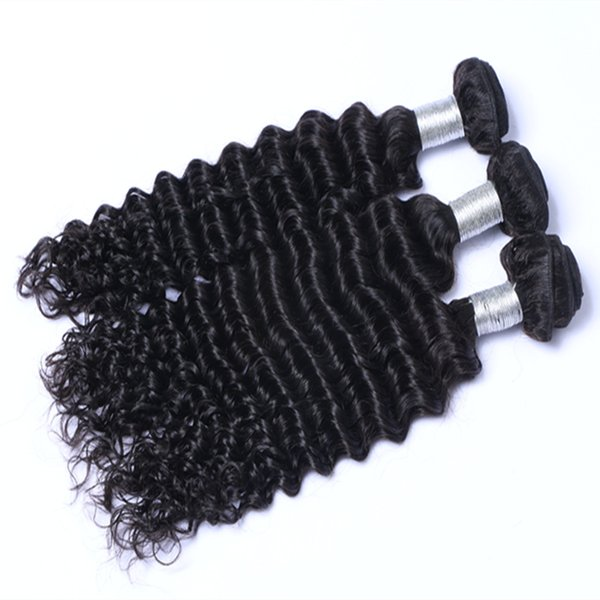 Best Quality Hot Sell Wholesale Brazilian Indian Peruvian Deep Curly hair extension unprocessed human virgin hair weave Can Be Dyed