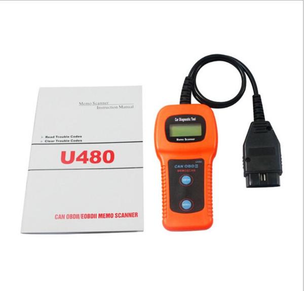 New arrival! CAN OBDII EOBDII Code Reader EOBD OBD2 car fault Engine, DTC, ECU tester diagnostic scanner decoding