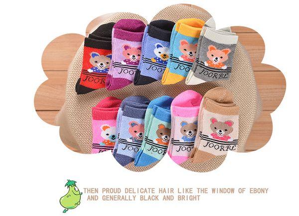 2017 crianças meias new baby boy girl summer meias crianças algodão estoques de boa qualidade meias de algodão macio baby candy cor