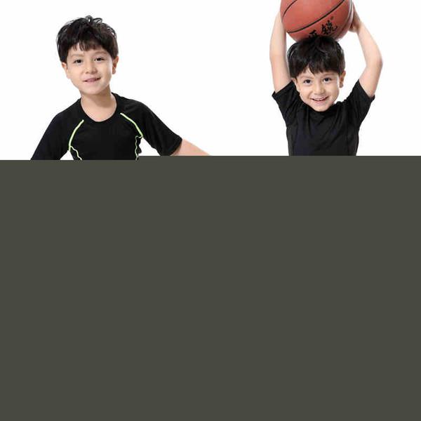 Wholesale- 2017 New Kids Running Compression Pants Boys Sports Leggings Child Basketball Football Training Ropa Trousers Leg shirts Tights
