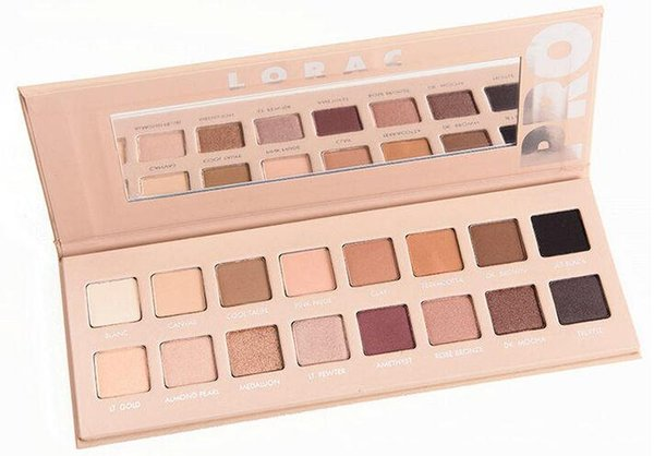 Top! LORAC PRO 3 PALETTE 16 color de sombra de ojos con ojos Primer Powder Eyeshadow Blush Makeup Cosmetic Palette Eye Shadow Palette DHL Gratis 60pcs