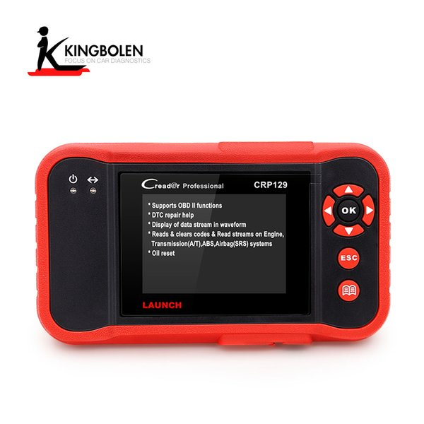 Launch X431 CRP129 OBDII Creader VIII Diagnostic tool ENG/AT/ABS/SRS EPB SAS Oil Service Light resets Code Scanner CRP 129 DHL free shipping