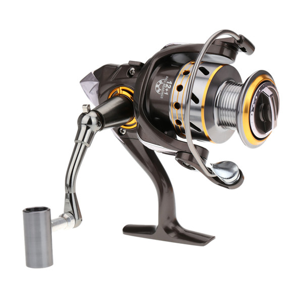 German Technology Collapsible CNC Full Metal Handle 12+1BB 3000-6000 DK Series Carp Spinning Reel For Fishing Wheel Gear Left Right Hand