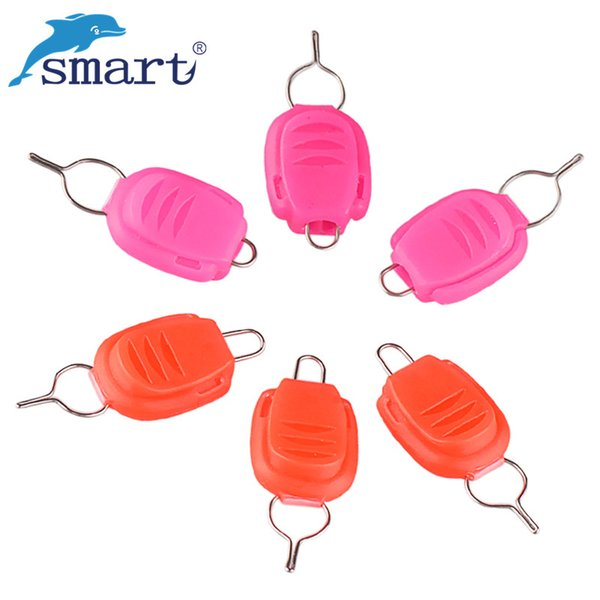 Wholesale- Free Shipping 20Pcs Fishing Line Holder Keeper For Baitcasting Reel Steel Wire Buckle Line Stopper Pescaria Pesca Accessories