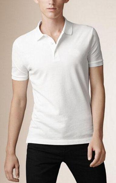 Brand Mens Solid Polo Paul shirt London Men Fashion Man Casual Polos Slim Fit Cotton England Polo Shirts 2017 Summer
