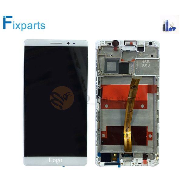 Çerçeve Montaj Yedek Parça + Araçlar ile Huawei Mate8 lcd için HUAWEI Mate 8 LCD Ekran + Dokunmatik Ekran Digitizer Toptan