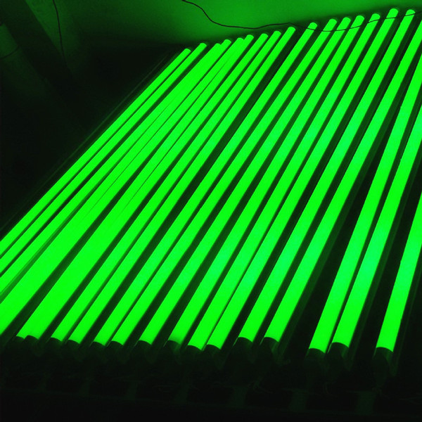 T8 LED-Röhren-Farbe beleuchtet 5ft 4ft 3ft 2ft 1ft integrierte 5-24W AC85-265V rote gelbe Leuchtstofflampen 2835SMD direkt Shenzhen China-Fabrik