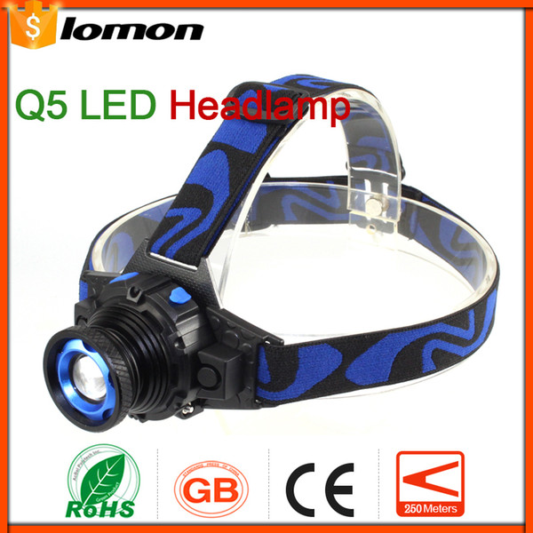 Zoomable LED headlamp Rechargeable LED Headlight Outdoors Portable Light High Power Olight Super Bright Bicycle Cycling Hiking Fishing Torch