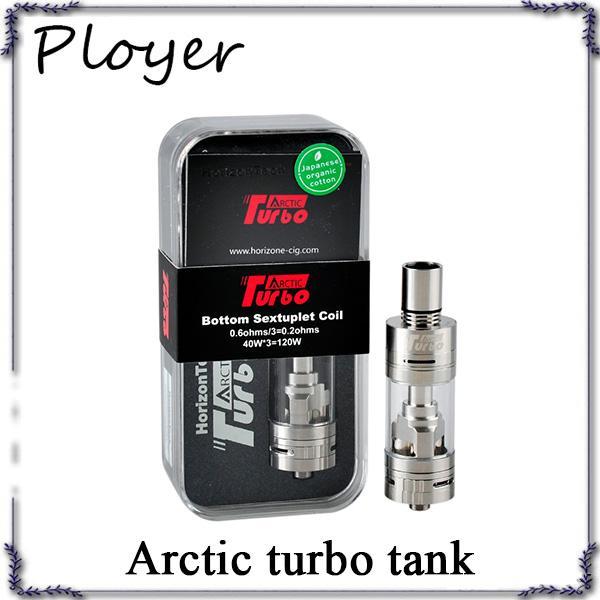Serbatoio vaporizzatore Horizon Arctic Turbo da 3,5 ml Serbatoio sub ohm con serbatoio Serpentino inferiore Turbo atomizzatore ecigarette VS subtank 0266066