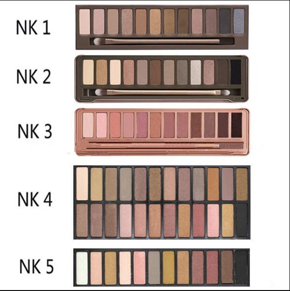 Eye hadow chocolate bar 12color profe ional makeup nk palette eye hadow with make up bru h ca e co metic et b741