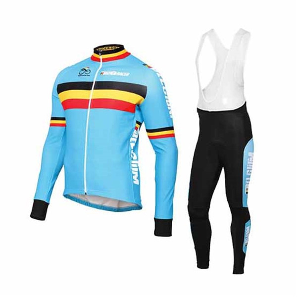 best selling Belgium Team Winter Thermal Fleece Long Sleeve Cycling Jersey Cycling Clothing Sets Maillot Ciclismo Breathable Bike Clothes Free Shipping