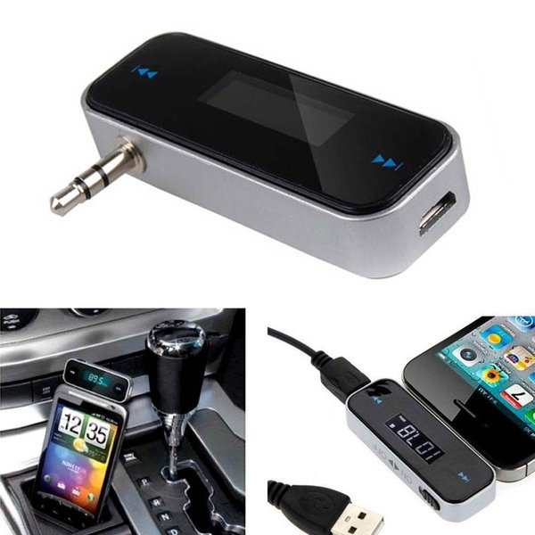 top popular Wireless Music to Car Radio FM Transmitter for 3.5mm MP3 for iPod Phones Tablets CAU_30E 2019
