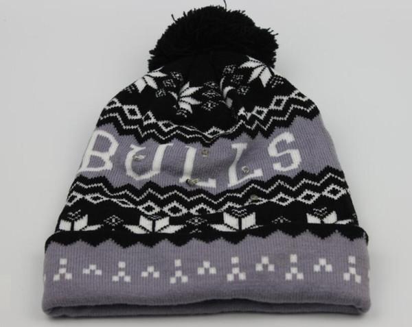 Winter Beanies Night Fishing Camping Running Cap Knitting Jacquard