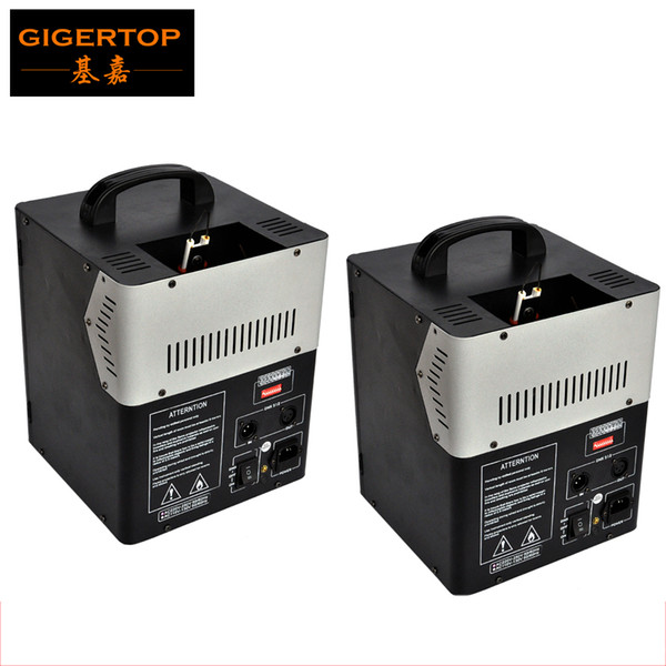 best selling New Disign 2XLOT 200W DMX 512 Fire Machine Stage Effect Equipment Fire Flame Machine For Stage Lighting Effect 90V-240V