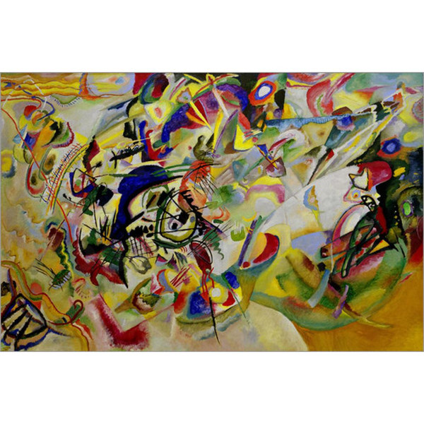 2019 Hand Painted Abstract Paintings Wassily Kandinsky Composition Vii Art Oil Canvas High Quality Home Decor From Cherry02016 126 64 Dhgate Com