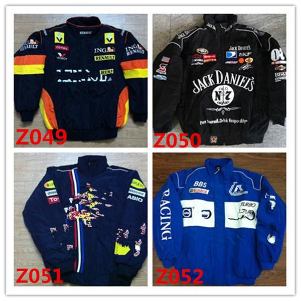 Marque de broderie F1 FIA NASCAR IndyCar V8 Supercar Veste en coton MOTO GP Racing Moto Rider Jacket f1 VESTE MOTO RACING hommes AR10