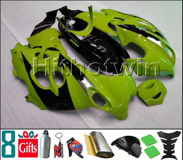 verde nero Kit cofano moto per Suzuki GSX-600F Katana 2003-2006 GSX600F 03 04 05 06 Carenatura plastica ABS
