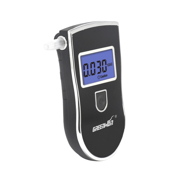 2018 Security Monitoring Semiconductor Sensor Professional Digital Breath  Alcohol Tester Portable Breathalyzer Detector Dual Lcd Display From