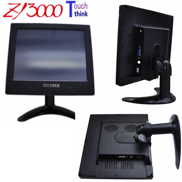 best selling fast sent 7 INCH TFT LED +TOUCH SCREEN+ HDMI VGA AV input 800*480 USB control touch screen Display small Monitor