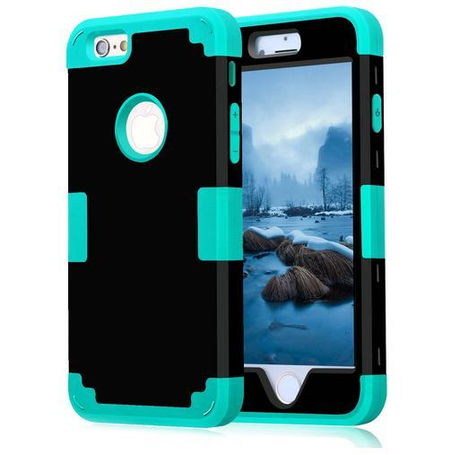 For Apple iPhone 6 7 Case Shockproof Protect Hybrid Hard Rubber Impact Armor Phone Cases For iPhone 5//5S/5C/SE/6/6S Plus/7 Cover
