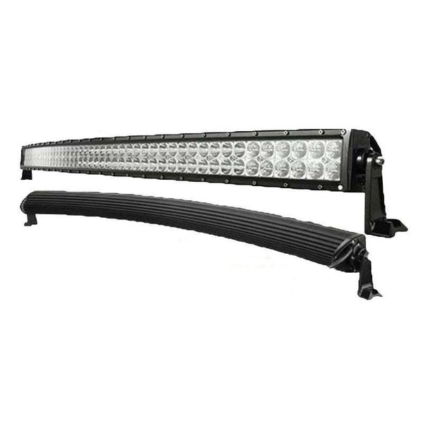 52 inch 400W Curved Spot Flood Combo Beam Light Bar Work Light for 4WD Off-road Vehicles Truck Tractor SUV UTV Wagon Jeep 4X4 Ford 12V 24V