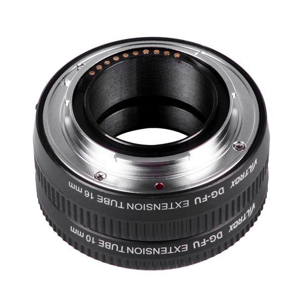 Original Viltrox DG-FU Auto Focus AF Extension Tube Ring 10mm 16mm Set Metal Mount for Fujifilm X Mount Macro Lens DZ0141